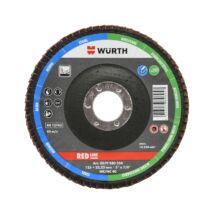 Würth Red Line lamellás csiszolótárcsa acélhoz, 125mm, G40