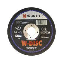 Würth W-Disc tisztítótárcsa acélhoz, 230x6mm