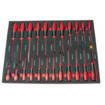 Winmax Tools csavarhúzó készlet, csillag-lapos- t-torx, 23 darabos