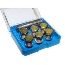 Winmax Tools olajleeresztő csavar menetjavító készlet (M15), 13 db-os