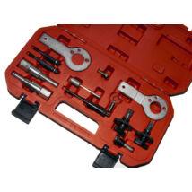 Winmax Tools vezérlésrögzítő (vezérműszíj cseréhez) készlet - Fiat, Opel (GM) - 12 db-os