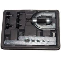 Winmax Tools csőperemező készlet egyszerű és dupla perem készítéséhez, 7 db-os