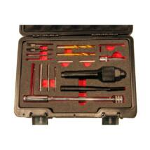 Winmax Tools betört izzító gyertya kifúró készlet, 16 darabos