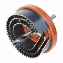Wolfcraft lyukfűrész készlet gipszkartonhoz 3 részes,  ø40,54,65mm