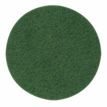 Wolfcraft 2db tépőzáras polírozófilc korong, zöld  Ø125mm