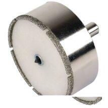 """Wolfcraft gyémánt lyukfűrész """"ceramic"""", 25mm vágásmélység , központfúró."""