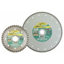 Gyémánt vágótárcsa Classic-Turbo, folyamatos él, Ø125x22.2mm, sarokcsiszolóhoz