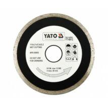 Yato YT-6012 Gyémántvágó korong csempe 115 mm