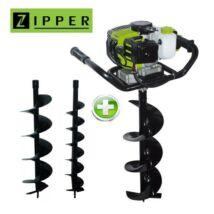 Zipper ELB70 benzines földfúrógép 1,82 kW / 15kg (ajándék fúrószárakkal)
