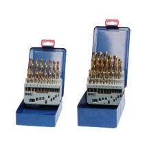 BOHRCRAFT csigafúró készlet HSS-TiN 19r. 1,0-10,0/0,5 MT10 Metal-Box