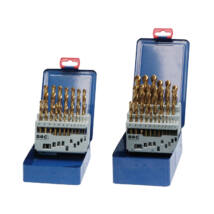 BOHRCRAFT csigafúró készlet HSS-TiN 25r. 1,0-13,0/0,5 MT13 Metal-Box