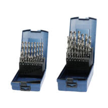 BOHRCRAFT csigafúró készlet HSS-G 19r. 1,0-10,0/0,5 KG10 ABS-Box