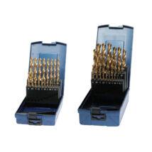 BOHRCRAFT csigafúró készlet HSS-TiN 19r. 1,0-10,0/0,5 KT10 ABS-Box