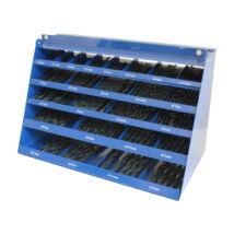 BOHRCRAFT csigafúró kínáló szekrény 365r. HSS-G 1,5-13/0,5 DB365-G