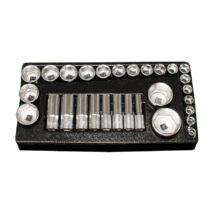 HANS 1/2˝ dugókulcsfej készlet 29r. 10-46mm TT-2 fiókmodul