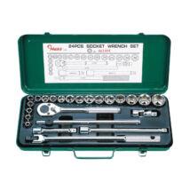 HANS 1/2˝ dugókulcs készlet 24r. 8-32mm 4624M