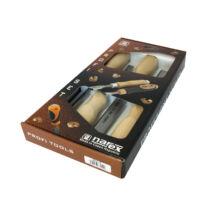 NAREX asztalosvéső készlet fa nyéllel 4r. 6-12-20-26mm 863010