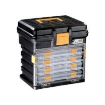 MANO szerszámkoffer 4 tárolódobozzal 340x272x341 H-14