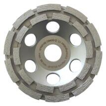 TOROFLEX gyémánt csiszoló tányér dupla soros 125x22,2 HO