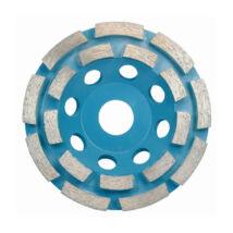 TOROFLEX gyémánt csiszoló tányér dupla soros 125x22,2
