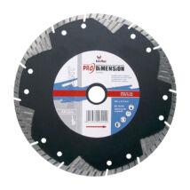 TOROFLEX PRO DIMENSION gyémánttárcsa 115x22,2/SH8