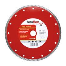 TOROFLEX RED TURBO gyémánttárcsa 115x1,2x22,2/SH8