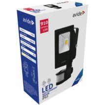 Avide LED Reflektor Slim 10W CW 6400K Mozgásérzékelős PIR