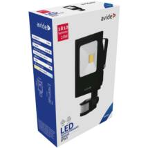 Avide LED Reflektor Slim 20W CW 6400K Mozgásérzékelős PIR