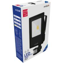 Avide LED Reflektor Slim 30W CW 6400K Mozgásérzékelős PIR