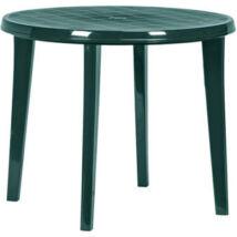 Curver Lisa műanyag kerti asztal, sötétzöld