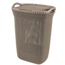 Curver Knit szennyestartó 57L, barna