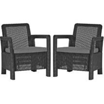 Allibert Tarifa Chairs műrattan kerti fotel 2db