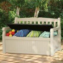 Keter eden garden bench pad és tároló
