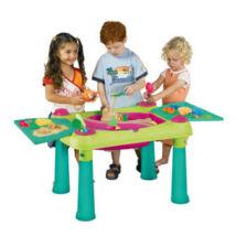 Keter Creative fun table műanyag kerti játékasztal
