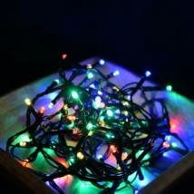 LED karácsonyi kül- és beltéri fényfüzér multi színben (8 programos)
