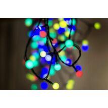 LED karácsonyi színes gyöngyfüzér (9,6m)