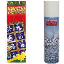 Hó spray 8 db sablonnal, 150ml