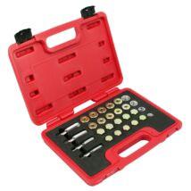 Mk-tools olajleeresztő csavar menetjavító készlet, 64 db-os