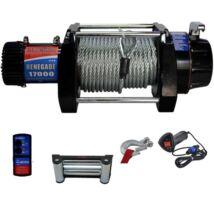 Elektromos off-road csörlő 7750kg 12V-os (kompletten)
