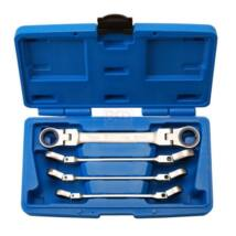 BGS-30990 Dupla csuklós racsnis kulcs készlet 10-19 mm 4-részes