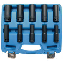 BGS-5206 Levegős dugókulcs készlet, 10-24 mm, 10 részes
