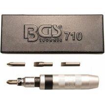 BGS-710 Kézi üthető csavarhúzó készlet 5-részes