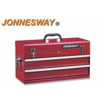 Jonnesway Hordozható Fém Szerszámosláda 2 Fiókos C-2DH5