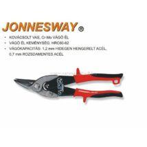 Jonnesway Profi Lemezvágó Olló Balos 250mm