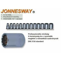"""Jonnesway Profi Collos (SAE) Dugókulcs Készlet 1/2"""" 13db-os"""