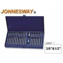 Jonnesway Profi Bit Készlet 40db-os (Imbusz-Torx-Spline) / S29H4140S