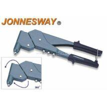 Jonnesway Profi Popszegecshúzó Forgófejes 2.4-4.8mm