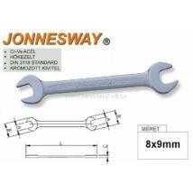 Jonnesway Profi Villáskulcs 08x09mm