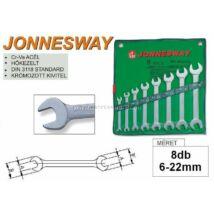 Jonnesway Profi Villáskulcs Készlet 6-22mm / 8db-os / W25108S