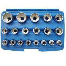 """BGS univerzális dugókulcs készlet 1/2"""" 8-32mm (19db-os)"""